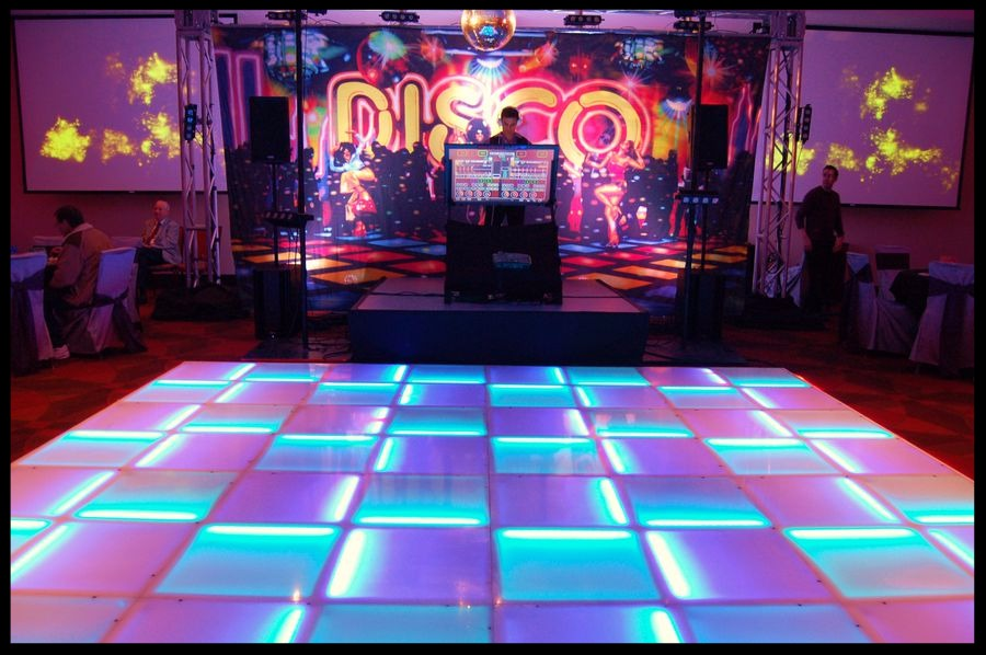 LED Dance Floor - How to make a lighted dance floor